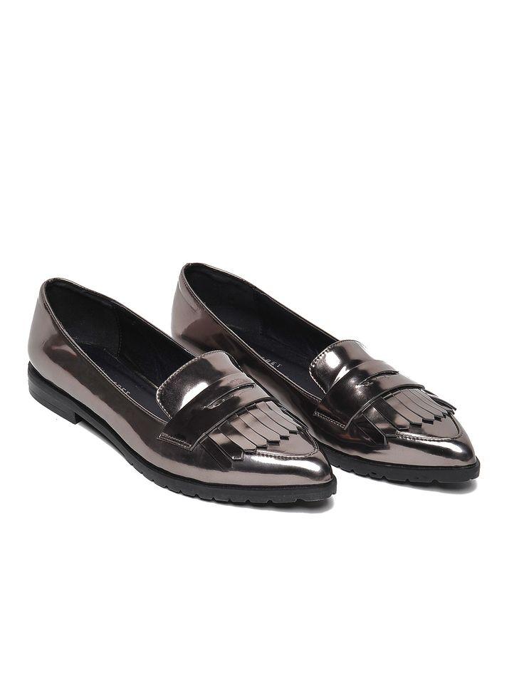 Comanda online, Pantofi Top Secret S024113 Silver. Articole masurate, calitate garantata!