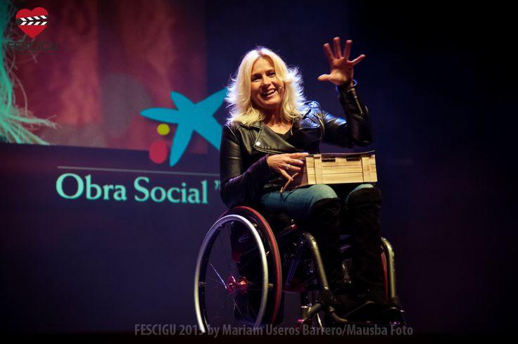 Gema Hassen-Bey, Premio Artista Comprometido. Fecha: 03/10/2015. Foto: Mariam Useros Barrero/Mausba Foto
