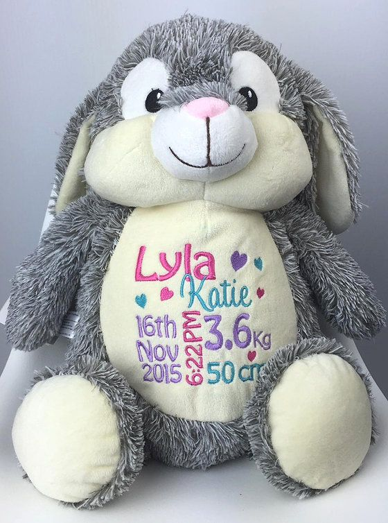 Personalised Birth and Baby gifts, Gallery, Teddie Lane