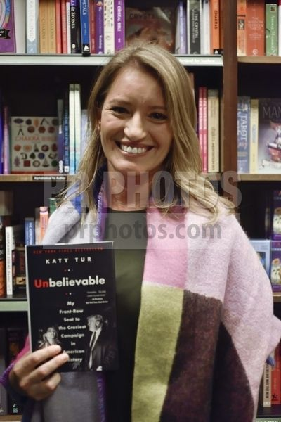 "Katy Tur's ""Unbelievable: My Front-Row Seat to the Craziest Campaign in American History"" Book Signing at Barnes & Noble in New York City on November 2 2017"