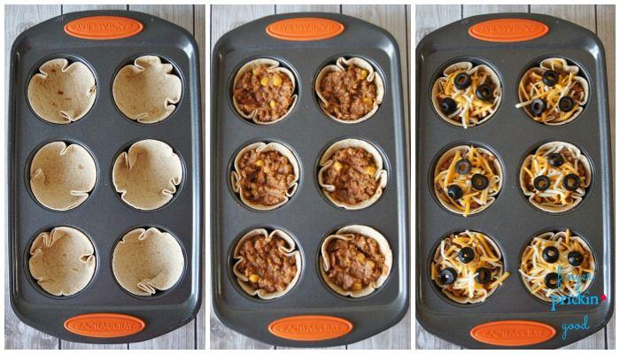 """Diaporama """"25 idées originales pour utiliser son moule à muffins"""" - De jolis…"""