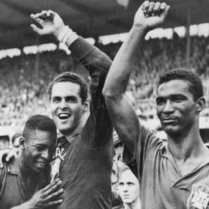 Pele, Santos and Garrincha Soccer Gods of #Brazil