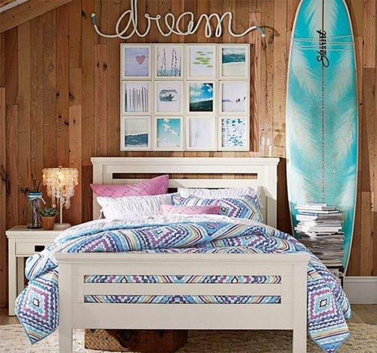 Teenage girl beach bedroom ideas 7