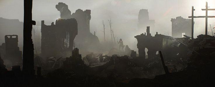 Lost Online, Mark Kolobaev on ArtStation at https://www.artstation.com/artwork/lost-online
