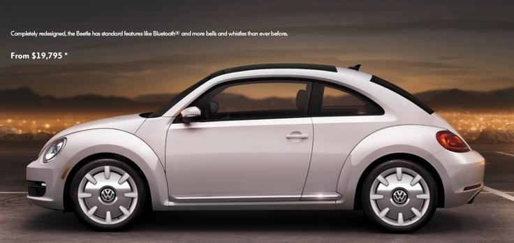 2012 VW Beetle Volkswagen