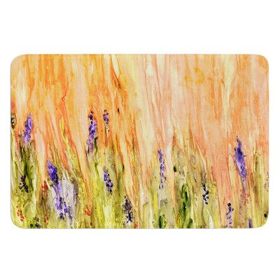 East Urban Home Welcome Spring by Rosie Brown Bath Mat