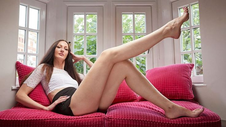 Russian Woman Sets Two Guinness World Records for the Longest Legs on a Female and Tallest Model