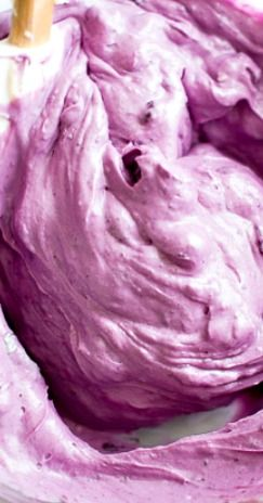 Fresh Blueberry Cream Cheese Frosting Recipe.