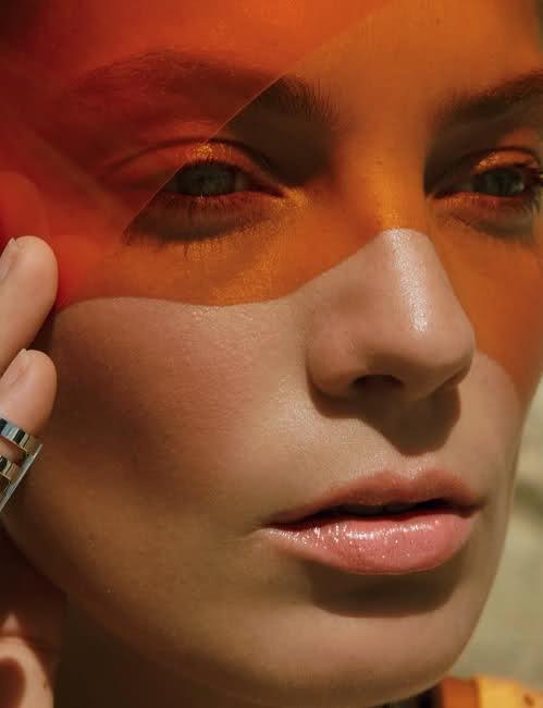 Supermodel Daria Werbowy