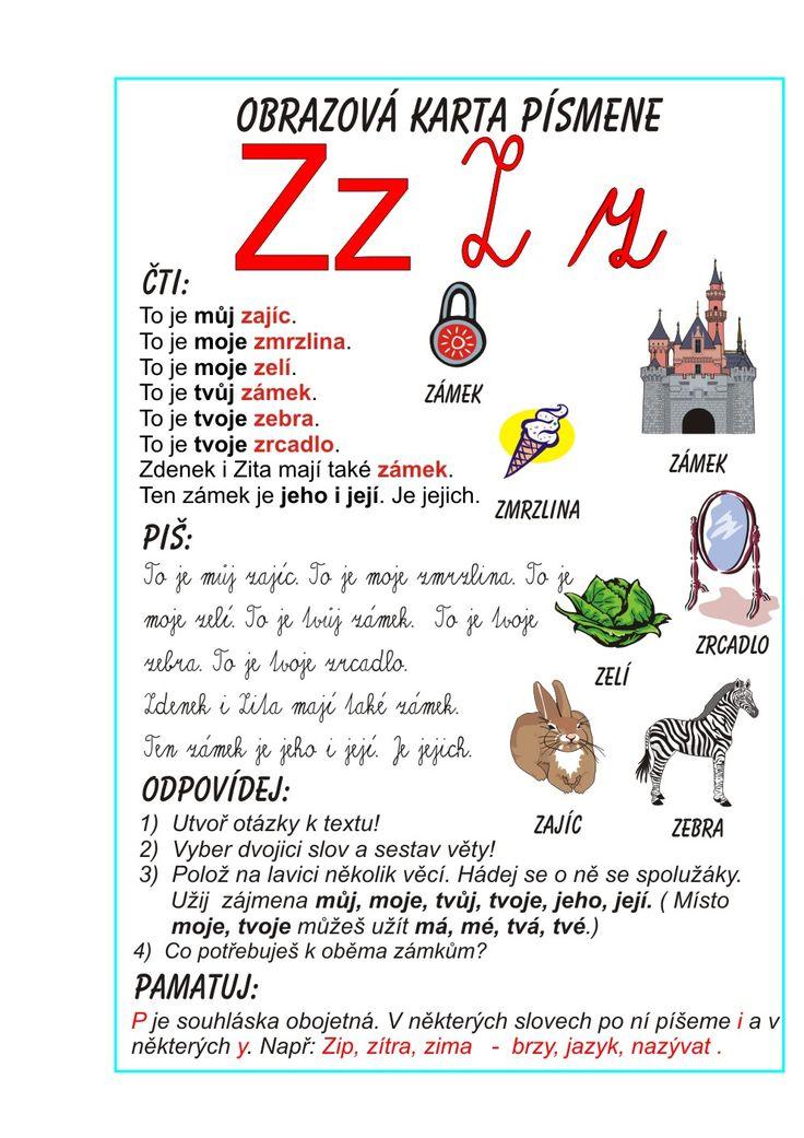 Inkluzivní škola - písmeno Z