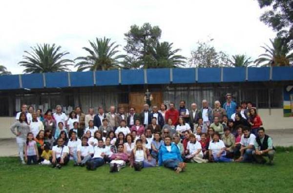 Primer encuentro de fraternidades, laicos y hermanos maristas del ecuador