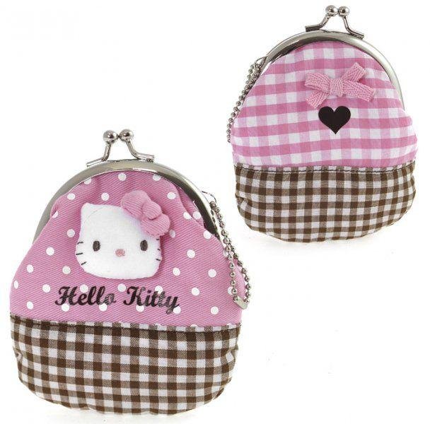 Portamonete Hello Kitty rosa