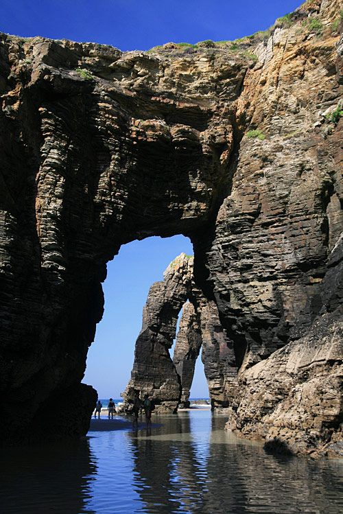 Playa de Las Catedrales, Northern coast of Spain near the town of Ribadeo