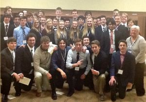 Northfield DECA Club advances 21 students to state competition