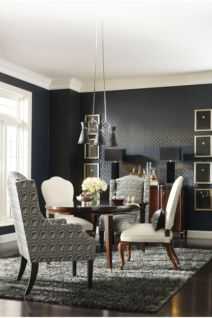 Glamorous And Sophisticated This Smaller Scale Dining Table Is Perfect For Intimate A List Parties But Know That It May Ignite Some Buzz With Radiating