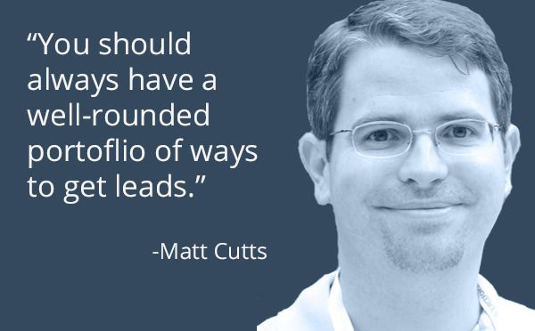 From the mouth of the man himself -- get a well-rounded portfolio for leads. #MarketingQuotes #MotivationalMonday