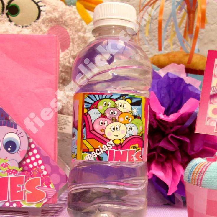 distroller neonato etiquetas agua