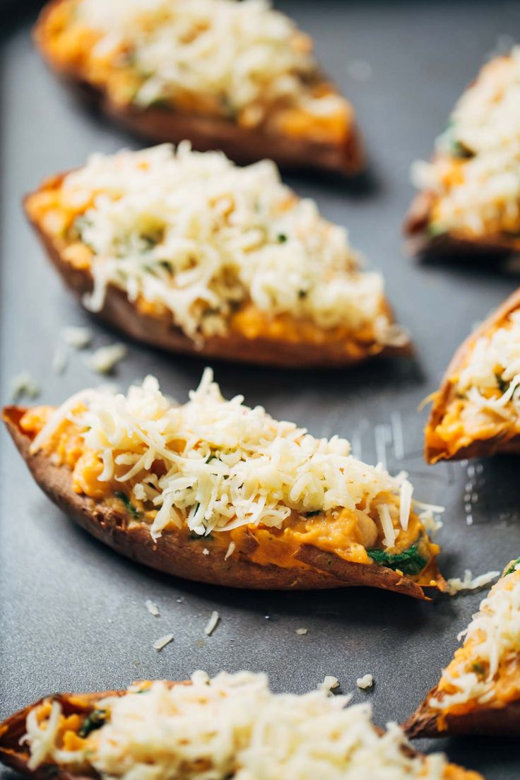 Prepping Healthy Sweet Potato Skins