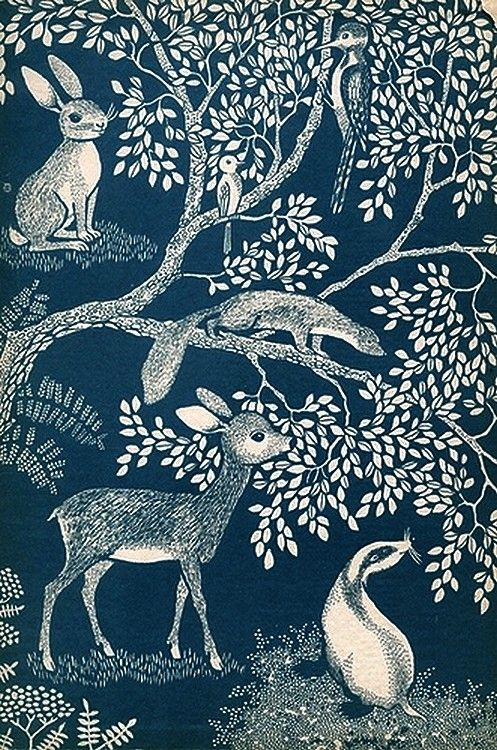 Inge Friebel — Little Forest, 1959 (497x750)