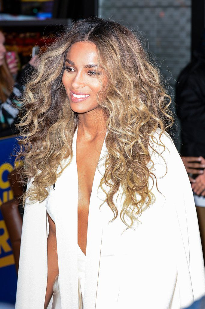 36 best blonde hair dont care images on pinterest hairstyles ciara doubles up on daytime glamour in 2 outfits youll want to shop now urmus Choice Image