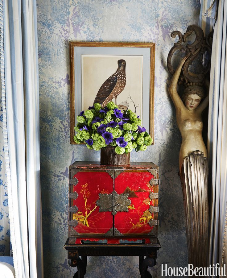 justine cushing in the master bedroom a chinoiserie cabinet