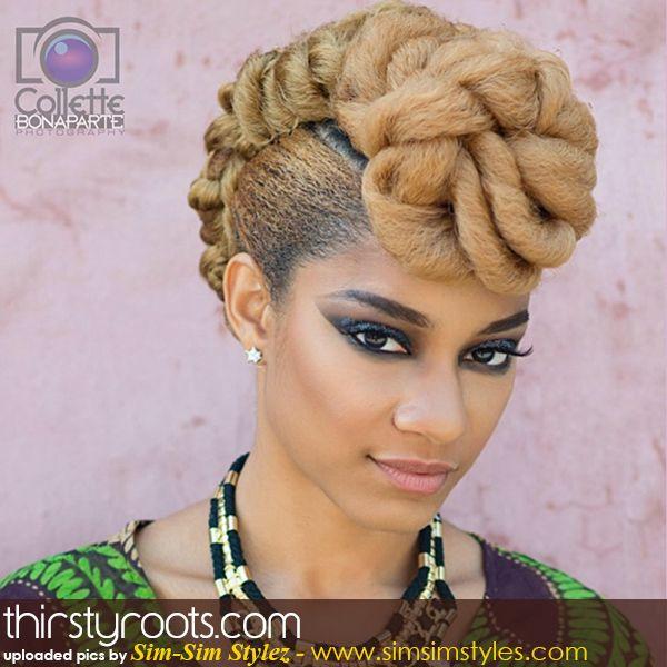 Natural Hair Updo Hairstyles Natural Hair Updo Updo And Blonde Natural Hair