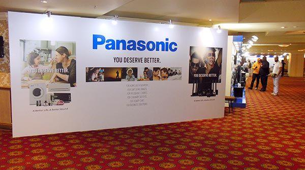 Panasonic Launch 2015 - Entrance wall