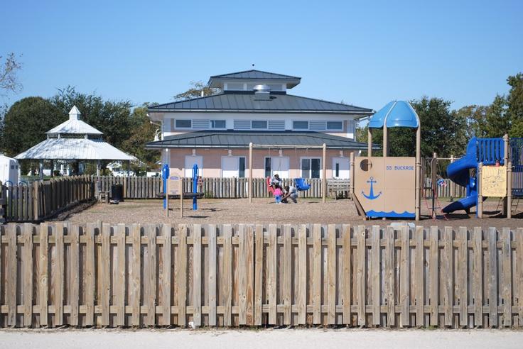 Playground at buckroe beach park buckroe beach and for Buckroe beach fishing pier