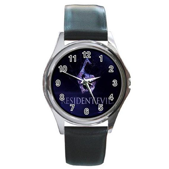 Rare Hot Resident Evil 6 Round Watches by ributributbro on Etsy
