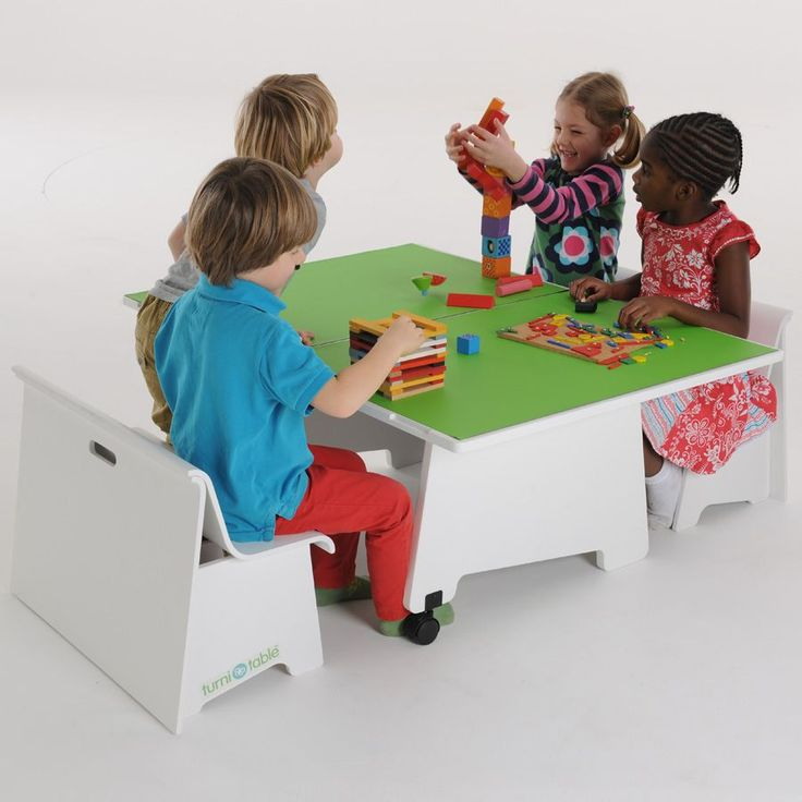 Love This In White   Brilliant Little Childrenu0027s Play Table!!1 | Childrenu0027s  Furniture | Pinterest | Play Table, Childrens Play Table And Furniture  Projects