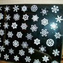 How to fold a snowflake before cutting