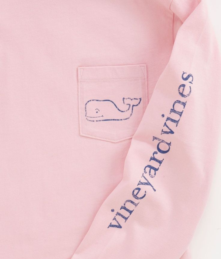 Vineyard Vines Long-Sleeve Vintage Whale Graphic T-Shirt in ...