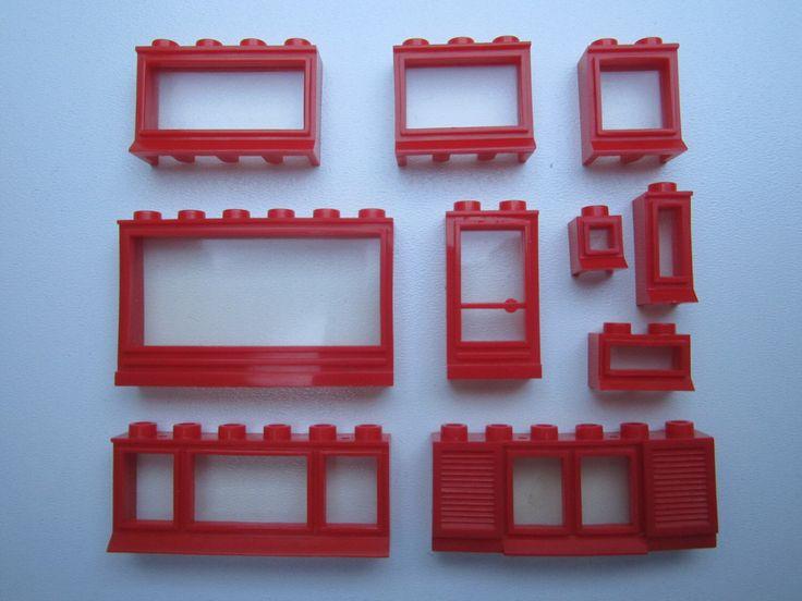 oude LEGO (R) ramen uit de jaren 50 - 60 door nostalgicTOYSHOP op Etsy https://www.etsy.com/nl/listing/208832597/oude-lego-r-ramen-uit-de-jaren-50-60