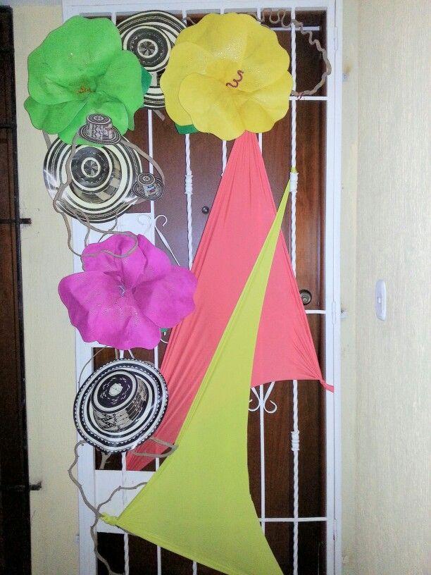 Puerta carnavalera