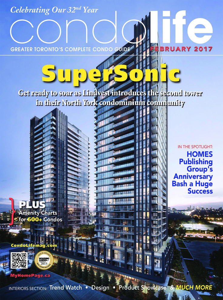 The latest edition of CONDO LIFE is now online free! Find new condos for sale and the latest products to help make your space perfect + so much more! Click the link to it read now! Cover Story: Lindvest http://digital.condolifemag.com/2017/February/?1 #Condo Life, #HOMES Publishing Group