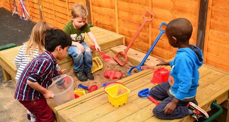 The children can access the muddy digging pit, the water mill or enjoy a lovely story or song under the sheltered cosy area as well as a variety of equipment of the children's choice.