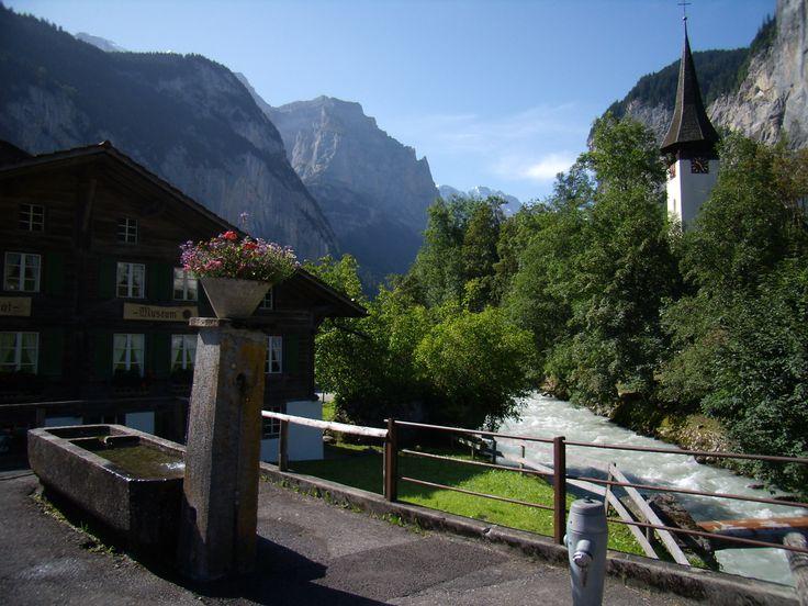 Mi rincón favorito en los Alpes Suizos