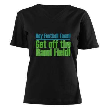 Marching Band Field Shirt... oh if only we had this back in my day...