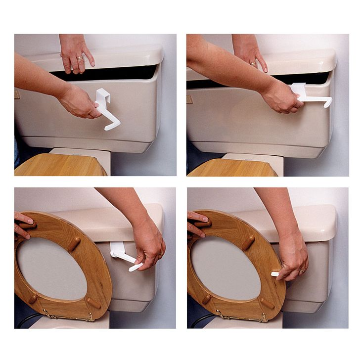 Does your toilet seat refuse to stay upright on its own? Try the Toilet Seat Holder - easy to install & remove. Buy Now for ONLY $4.95!