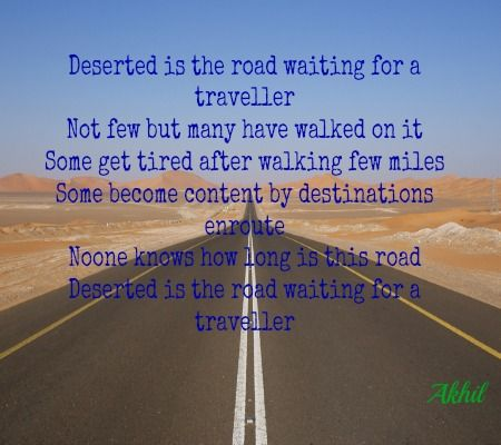 poem on journey and traveller some of my quotes and short poem