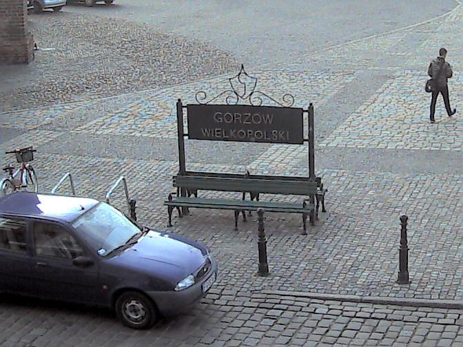 Webcam Gorzow Wielkopolski, Internet bench, Poland - Cambirdie