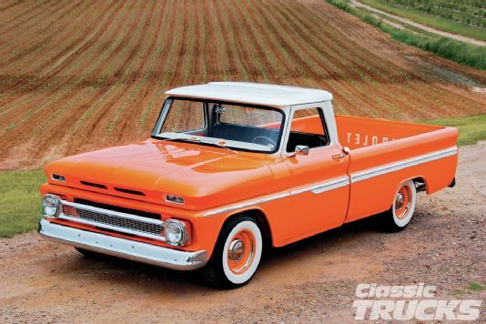 1966 Chevy C10 - Orange Twist - Classic Trucks Magazine