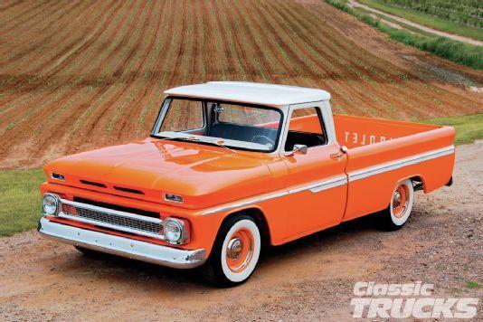1966 Chevy C10 - Orange Twist - Classic Trucks Magazine