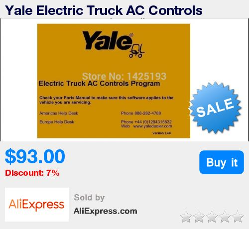 Yale Electric Truck AC Controls Program ETACC v2.4K * Pub Date: 12:53 Jul 12 2017