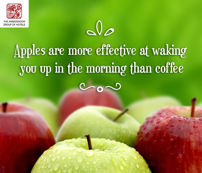#Apples can also bolster your #health in ways that benefit early morning activities. Apples contain high levels of #phytonutrients, antioxidants that give apple #skin its color. Eating apples regularly improves your breathing.   #yummy #fresh #foodie #delicious #eating #foodpic #hungry #amazing #AmbassadorHotels #Mumbai #Chennai #Aurangabad #Churchgate #marinedrive #ajnata #pallava #tour #foodfacts #didyouknow