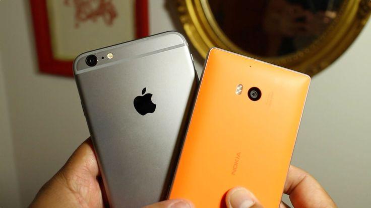 iPhone 6 Plus vs Lumia 930 video autofocus and stabilization