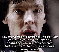 Sherlock deduces Doctor Strange