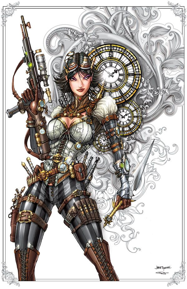 Lady Mechanika Commission by *jamietyndall on deviantART