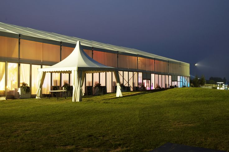 HUAWEI Golf Tour | Frame Tent | Event Tent | Gazebo Tent