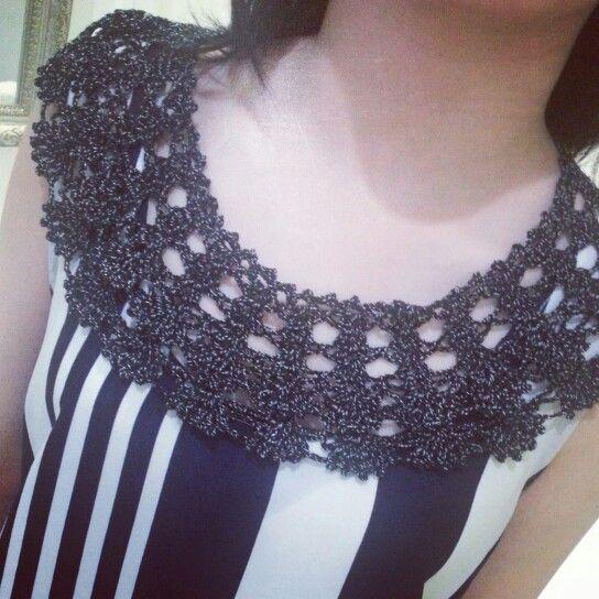 Watch my youtube jachelle stephanie for this collar tutorial